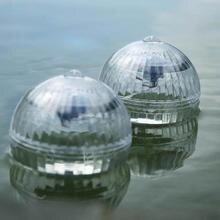 Solar Power Lamp Pool Floating RGB Pond Light LED Lamp for Garden Decoration Outdoor Waterproof Solar LED Bulbs Ball Light