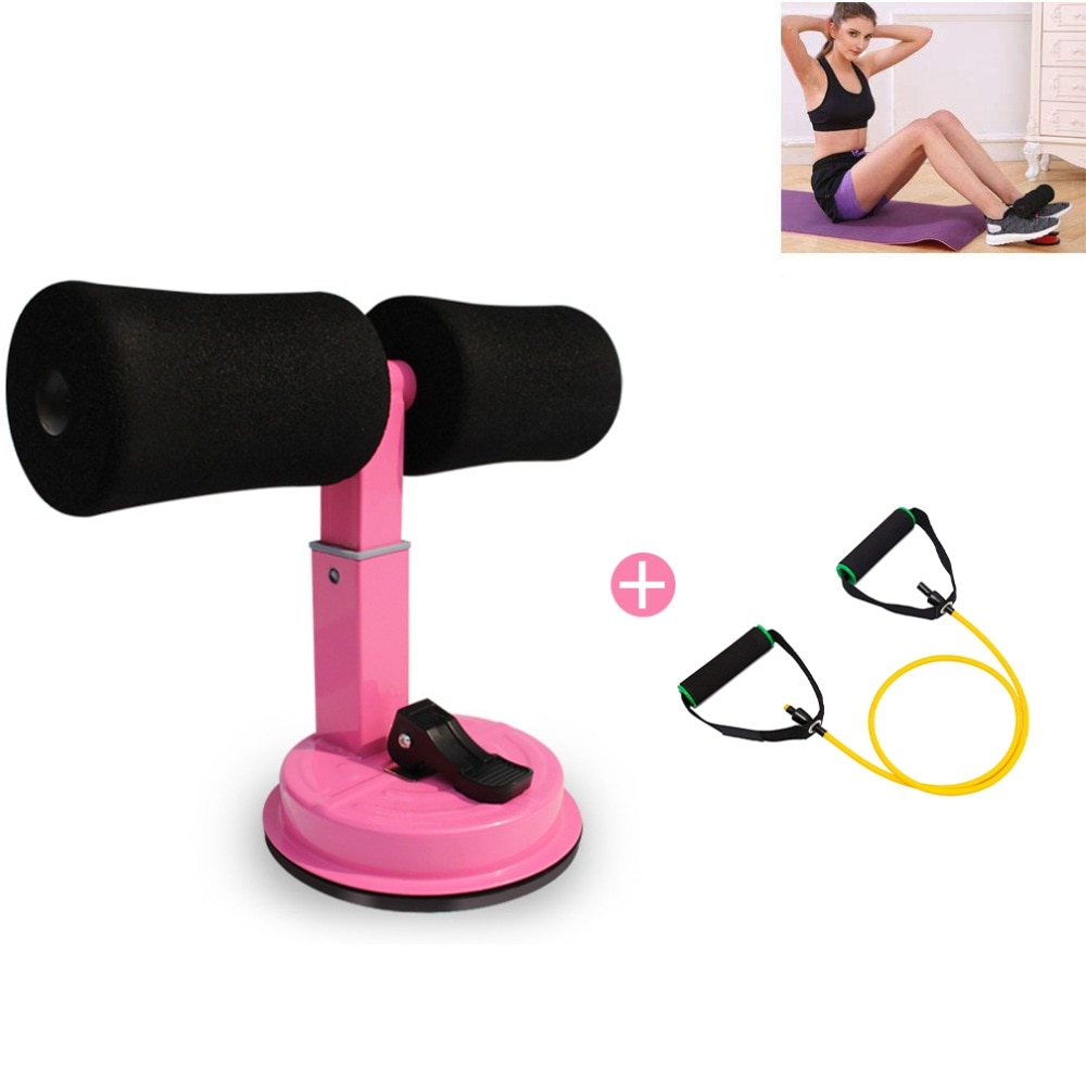 A barra de situp da auto-sução ajustável senta-se o ajudante do equipamento com tubo da resistência ótimo para flexões, sit-ups, treinamento do músculo