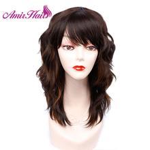 Kurze perücke Braun Mixed Blondes Lockiges bob Perücken Frauen Schwarz Natürliche Haar Perücken Synthetische Wärme Beständig Faser Haar Cosplay Partei amir