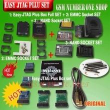 Nouvelle version originale ensemble complet boîte facile Jtag plus boîte facile-Jtag plus + prise EMMC + prise NAND