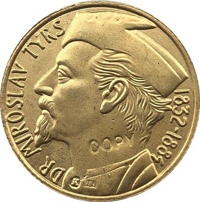 1 Dukat Miroslav Tyr копия монеты 20 мм