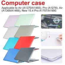 Wasserdicht Fall Kristall Transparent Notebook Fall für MacBook computer und büros Pro Air 11 12 13 15 Licht Laptop Abdeckung
