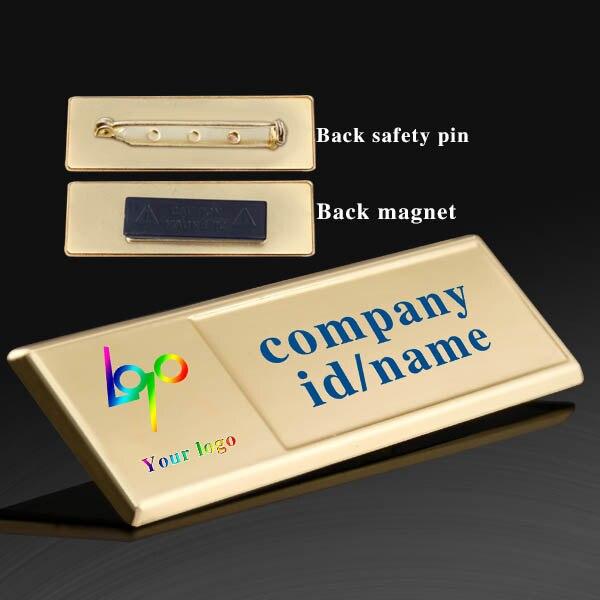 Магнитный значок из цинкового сплава, магнитный значок, школьный металлический значок