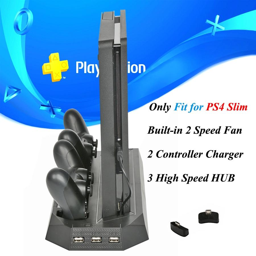 supporto-di-raffreddamento-verticale-per-console-ps4-slim-con-dock-station-per-caricabatterie-con-controller-a-doppio-joystick-per-giochi-sony-playstation-4-slim