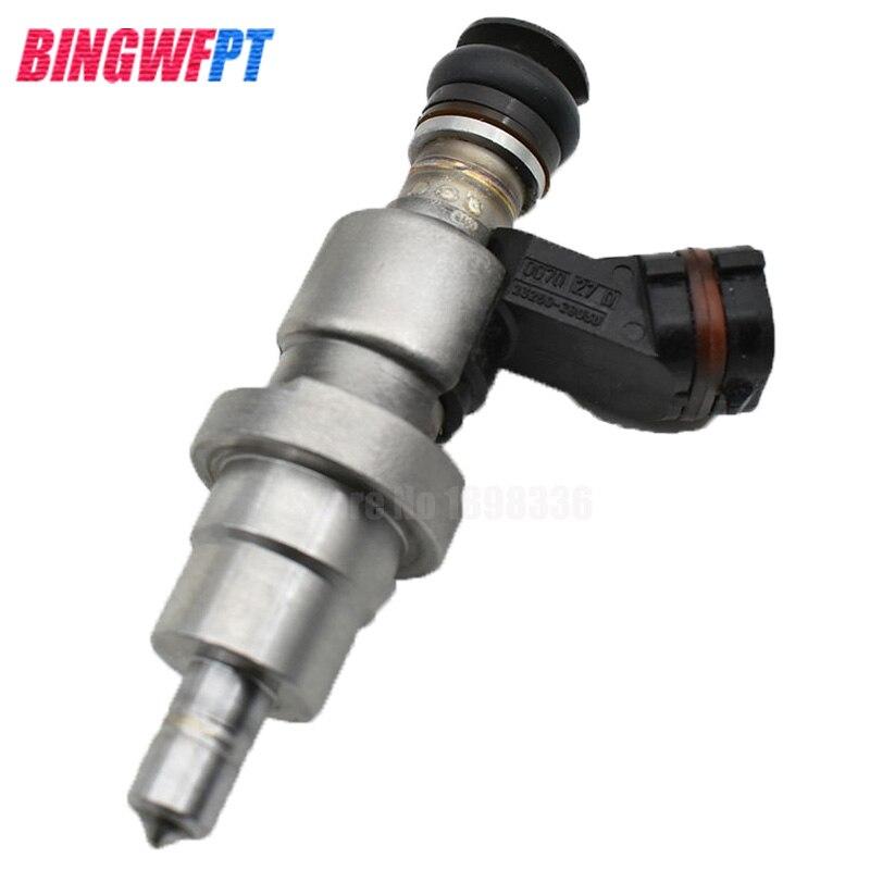 100% inyector de combustible Original (usado) 23250-28030 23209-28030 boquilla para Toyota Avensis Rav4 Opa 00-03 2.0L 1AZFSE