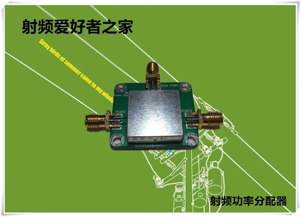 El nuevo divisor de potencia RF de 1 unidad está dividido en dos 10 M-1 GHz de alto aislamiento