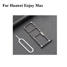 For Huawei Enjoy Max Nano Sim+Micro SD Card Tray Holder Slot Socket Parts EnjoyMax 7.12 inch With Ta