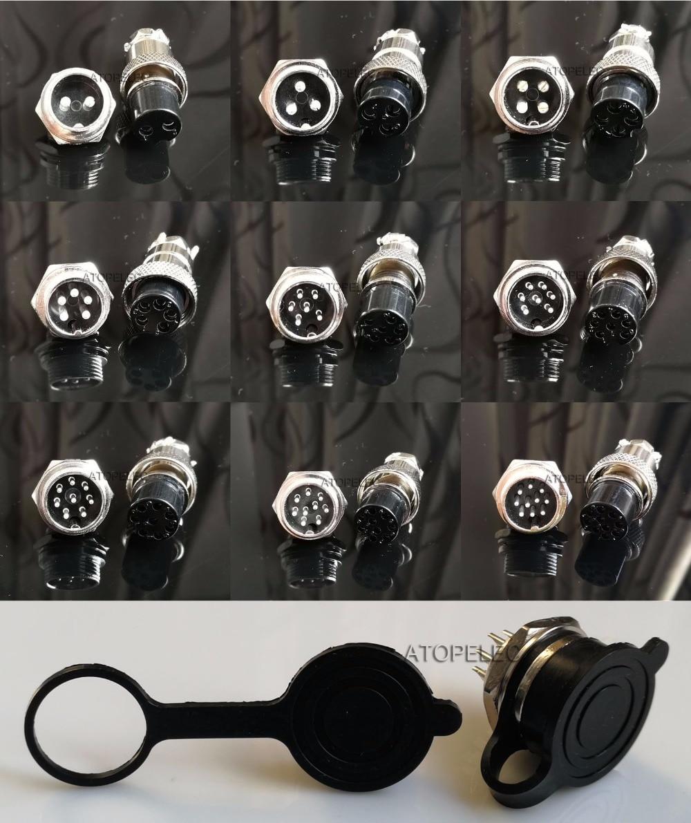 2 комплекта GX16 16 мм авиационный штекер, металлическая панель, гнездовой разъем + резиновый водонепроницаемый 2Pin/3pin/4pin/5pin/6pin/7pin/8pin/9pin/10pin 5pin waterproof connector 2pin waterproof connector3pin waterproof connector   АлиЭкспресс