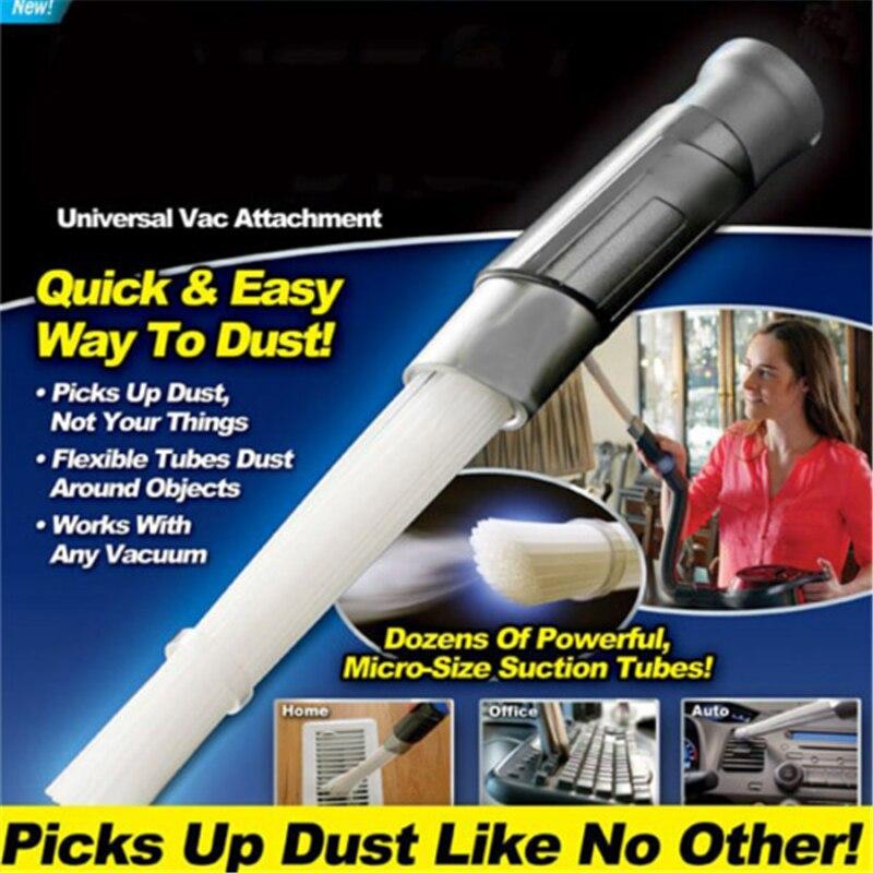Herramienta de limpieza al vacío Universal portátil removedor de suciedad limpiador de brochas de polvo multifunción