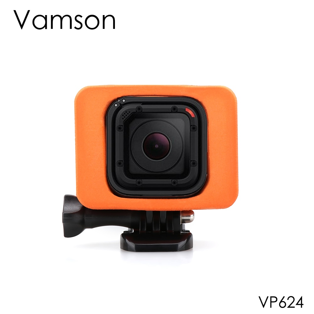 Vamson para Gopro Hero 5, 4s de sesión, cubierta flotante, antifregadero, impermeable, accesorios para cámara deportiva, montaje para Go pro VP624