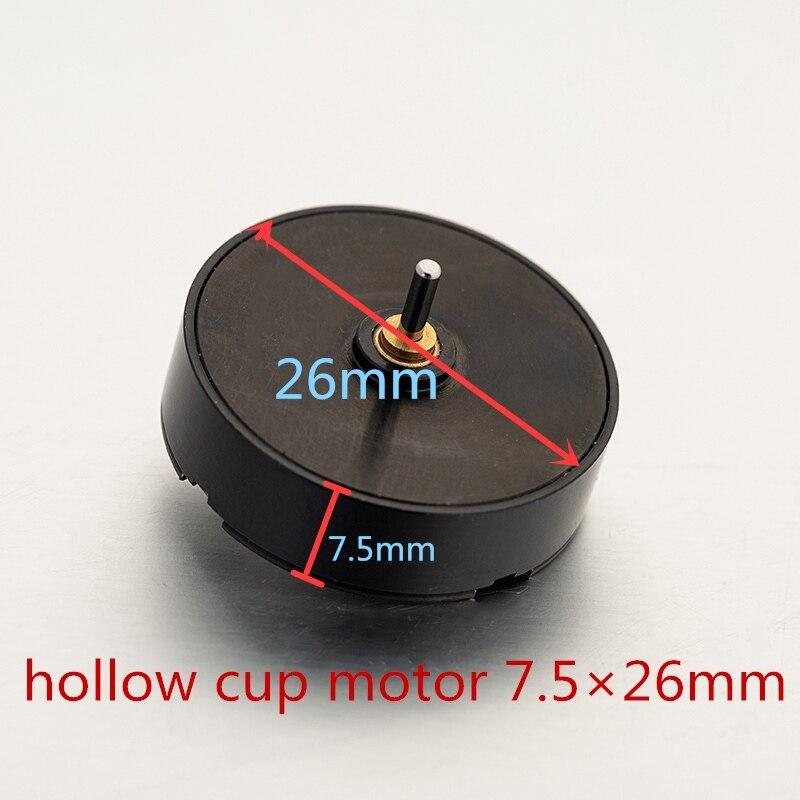 Profesional 25mm plata Japón hueco taza motor para tatuaje rotativa de la máquina de tatuaje accesorios envío gratis
