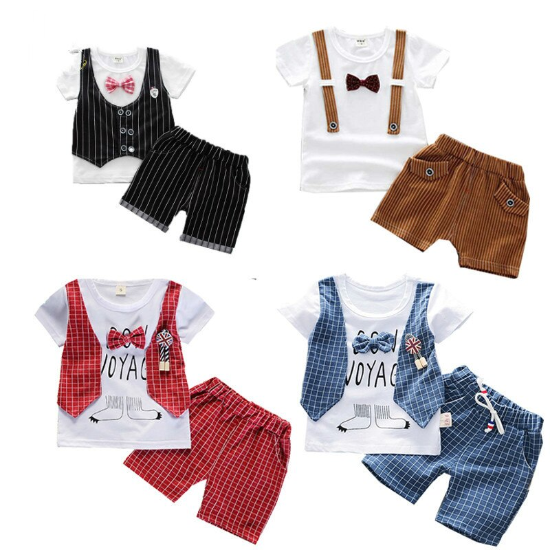 fashion striped kids girls clothing sets summer newborn baby girls clothes cotton tops pant children clothes suits 1 5 years Kids clothes boys Summer Children Girls Cotton Clothes T-Shirt Shorts 2pcs/Sets Toddler Fashion Clothing Sets Baby Tracksuits