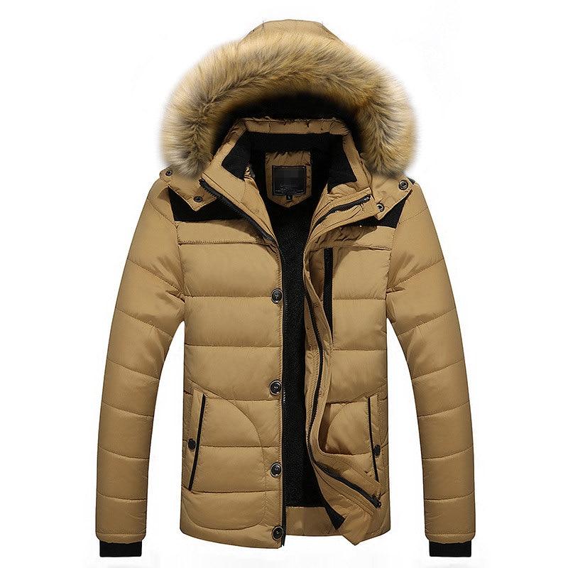 ¡Novedad de 2019! chaquetas de algodón para hombre de MRMT, moda de algodón grueso para hombre, ropa de invierno para hombre, chaqueta gruesa, ropa de algodón