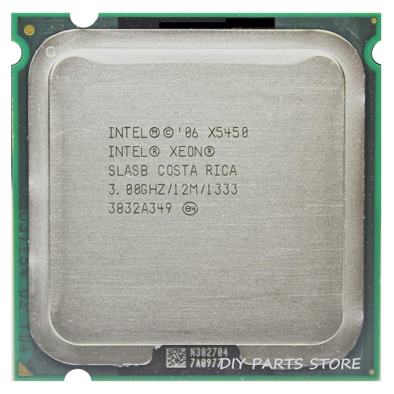 INTEL XONE X5450 INTEL X5450 775 четырехъядерный процессор 4 ядра 3,0 МГц LeveL2 12 м работа на LGA 775 материнская плата