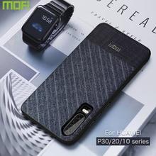 For Huawei P30 Pro Case Lite For Huawei P20 Pro Case Lite P10 Plus Case Mofi Fabrics Cloth Back Cover Dark Man Boy P10 20 30 Pro