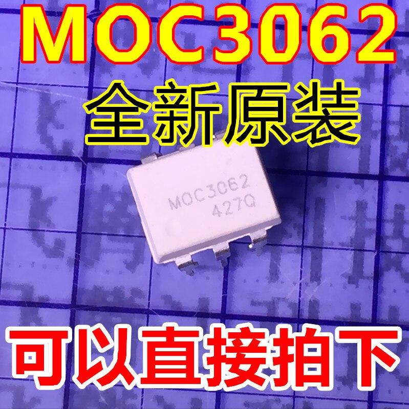 10 pçs/lote MOC3062 3062 DIP-6 Em Estoque