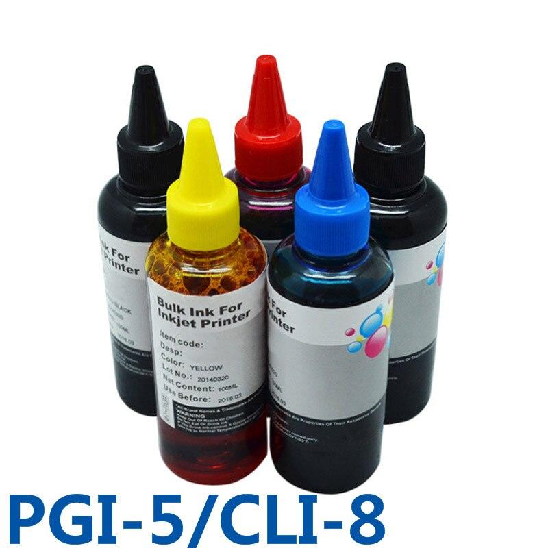 PGI5 CLI8 recarga de tinta CISS tinta a granel para impresora para Canon PIXMA IP4200/IP3300/IP4500/IX4000/IX5000/IP4300/MP970/IP5300/Pro9000