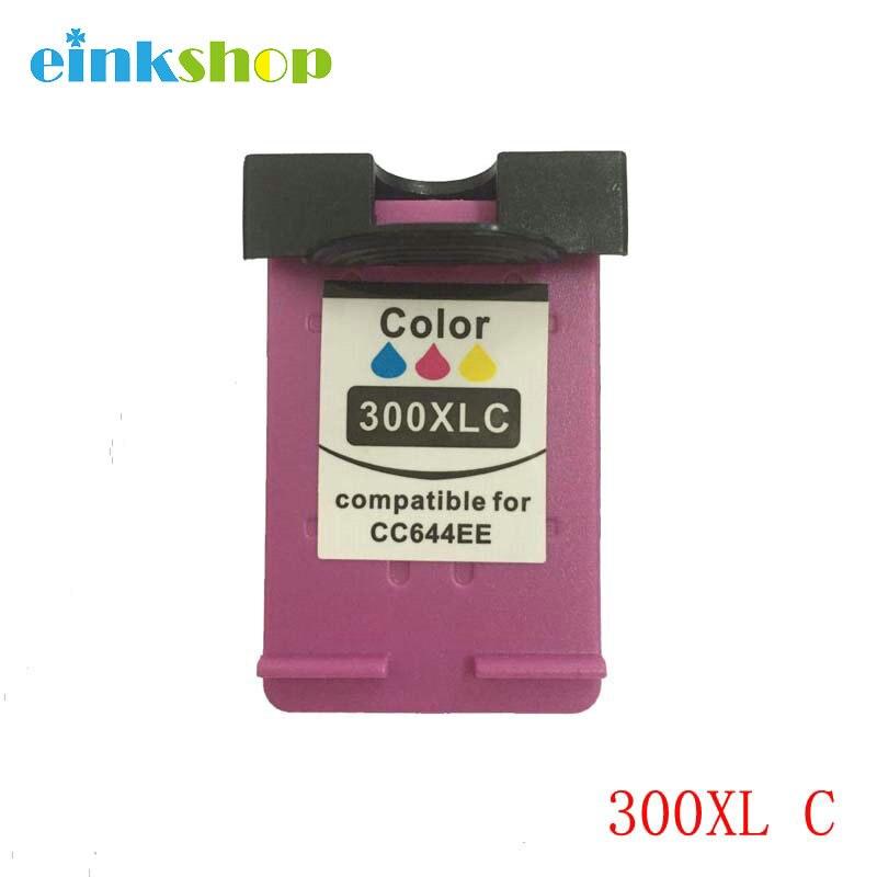 Einkshop 300XL rellenar tinta cartucho de repuesto para HP 300 xl Deskjet serie F4500 F4580 F4583 F2420 F2480 F4210 F2483 impresora