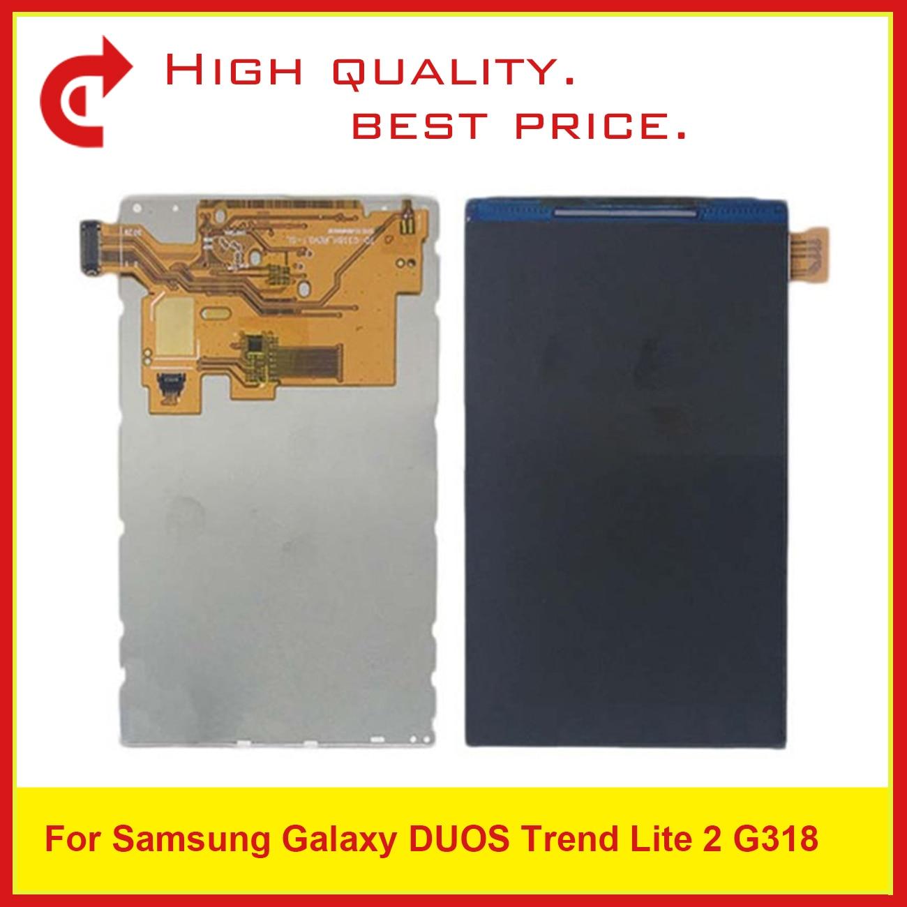 10 unids/lote AAA pantalla Lcd para Samsung Galaxy Trend Lite 2 G318H G318 pantalla Lcd reemplazo