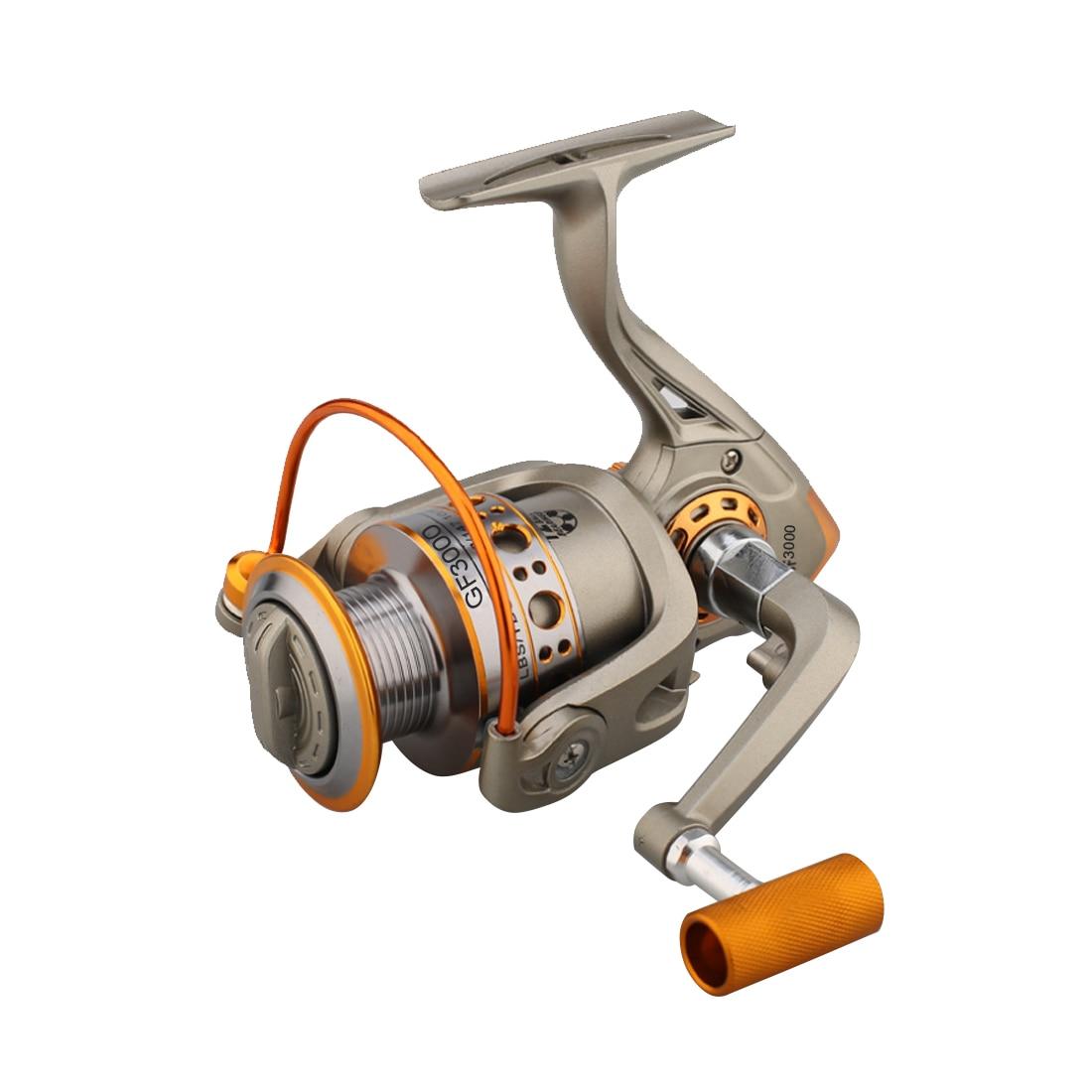 Nuevo diseño, Nunca se rompe 5,2 1 bote de pesca de Metal de aluminio, carrete de pesca, carretes de pesca