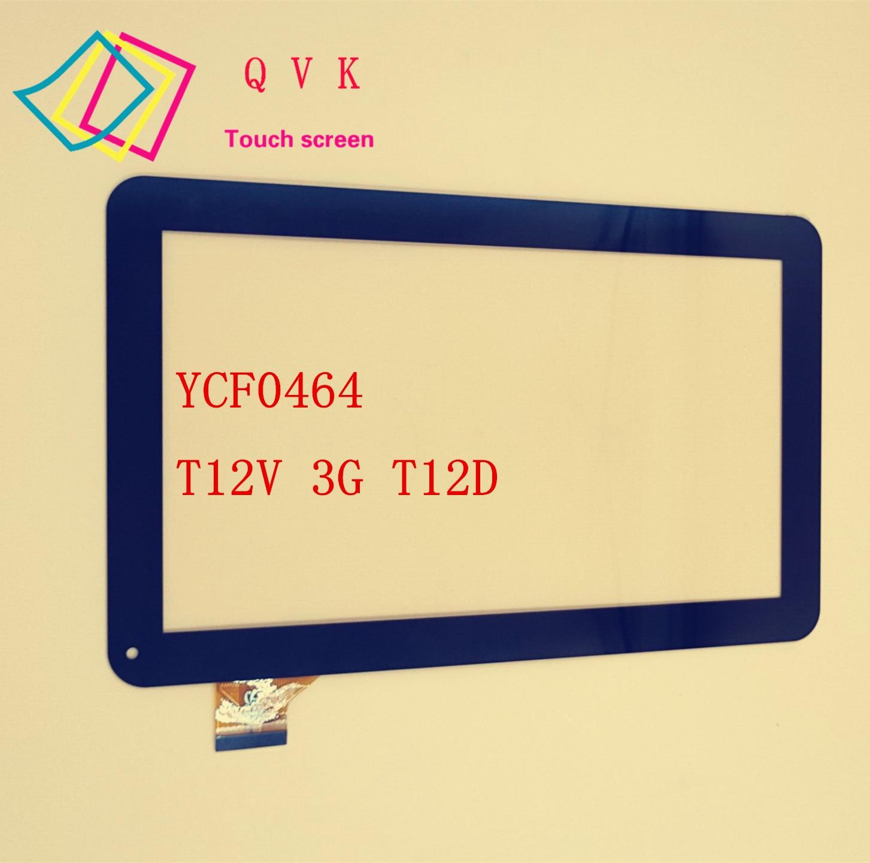 Фото 10 1 дюймовый планшетофон YCF0464 для Oysters T12 T12D T12V 3G внешний емкостный сенсорный