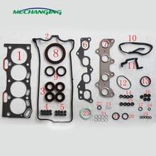 4EFE 4E-FE Para TOYOTA COROLLA Auto Peças Motor Reconstruir Kits Conjunto Completo Junta As Peças Do Motor Do Motor 04111-11141