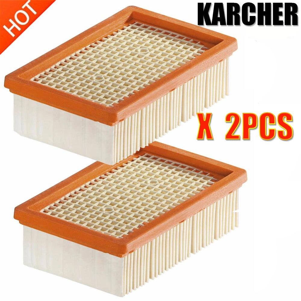 Filtro KARCHER para KARCHER MV4 MV5 MV6 WD4 WD5 WD6 WD6 piezas de repuesto de aspiradora en seco y húmedo #2.863- 005,0 filtros hepa bolsa de polvo