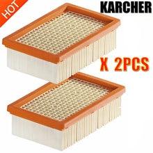 Filtro KARCHER per KARCHER MV4 MV5 MV6 WD4 WD5 WD6 aspirapolvere bagnato e asciutto parti di ricambio #2.863-005.0 filtro hepa sacchetto per la polvere