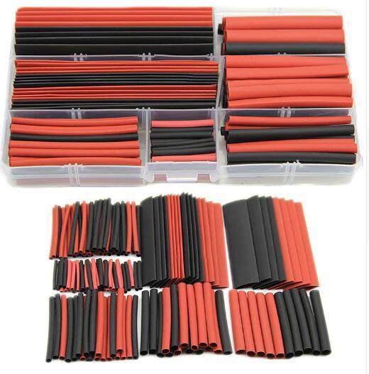 Новый набор из 150 шт., 21, полиолефиновые термоусадочные трубки, трубки, комплект проводов, кабель с чехлом
