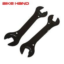 2PC Fahrrad Reparatur Werkzeuge 13/15/14/16mm Fahrrad Stahl Bike Kopf Offene Ende Achse hub Kegel Wrench Spanner Fahrrad Multifunktions Werkzeuge