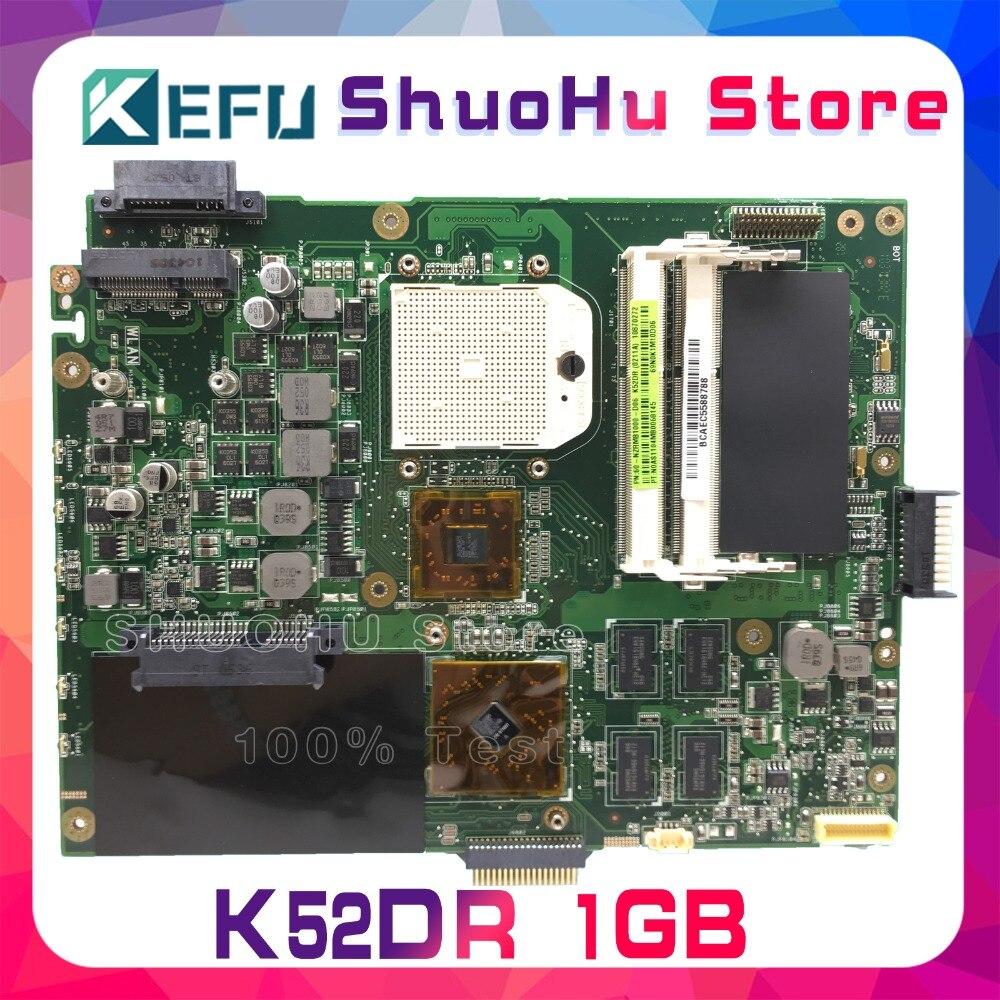 placa mae para computador k52dr k52d k52de a52d a52dr a52de 1gb video hd5470 100 original