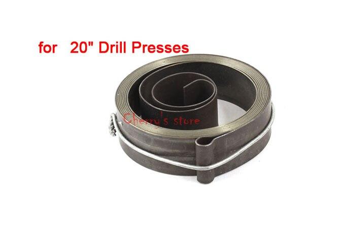 """Montaje de resorte de la bobina de retorno de la alimentación de la prensa del taladro de 20 """"7 cm x 1,9 cm"""