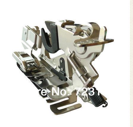 Venta Directa 2014 máquina de coser Real envío gratis Ruffler prensatelas para máquina de coser caña baja doméstica para Janome