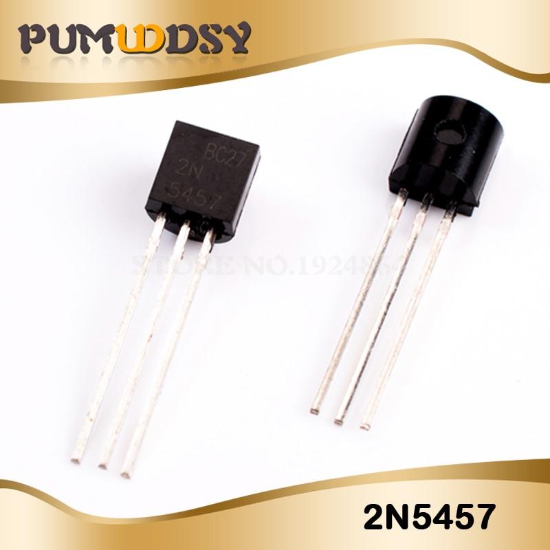 10 шт. 2N5457 2N5457G TO-92 JFET n-канальный транзистор IC
