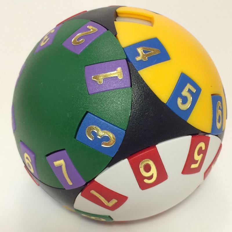 Intelligence Sliding Magic Ball IQ cube Logical Wisdom Ball Logic Puzzle Cubo magico Stickerless  Drop Shipping