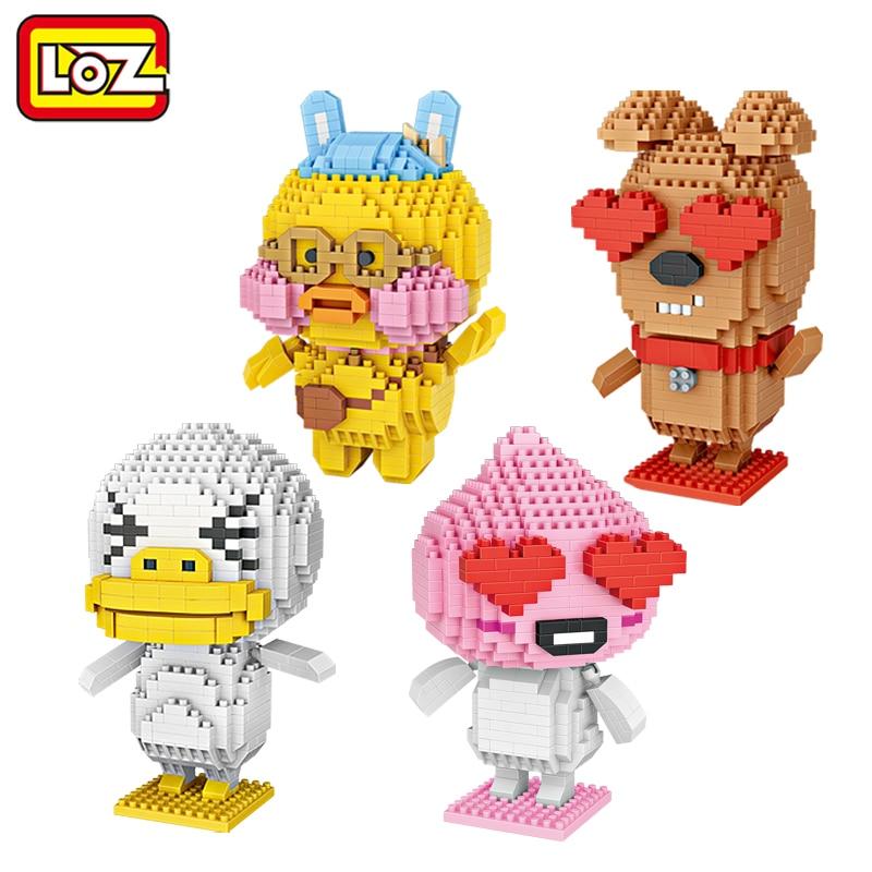 LOZ уродливые утенки Щенок любовь кафе мини алмазные строительные блоки Дети Интеллектуальные модели строительные игрушки