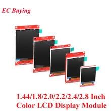 1.44/1.8/2.0/2.2/2.4/2.8 pouces TFT écran couleur LCD Module daffichage lecteur ST7735 ILI9225 ILI9341 Interface SPI 128*128 240*320