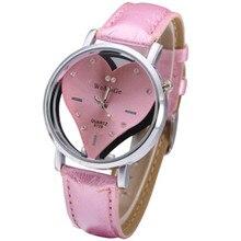 Merk Vrouwen Horloges Enfant Ceasuri Luxe Diamant Elegante Dames Hodinky Mooie Roze Hart Wijzerplaat Meisjes Quartz Klok Femme Rejores
