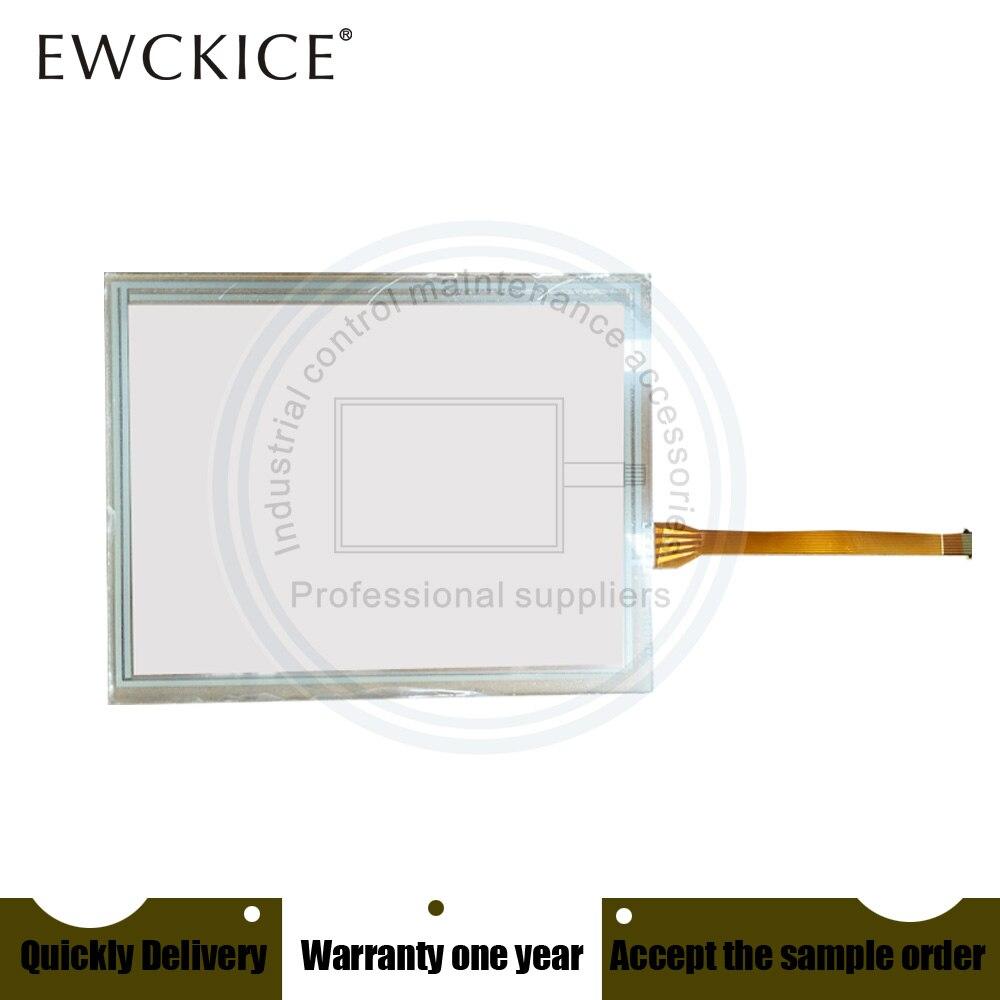 NOVO painel da tela de toque do PLC IHM PanelView Plus 600 2711P-T6C20D8 membrana touchscreen