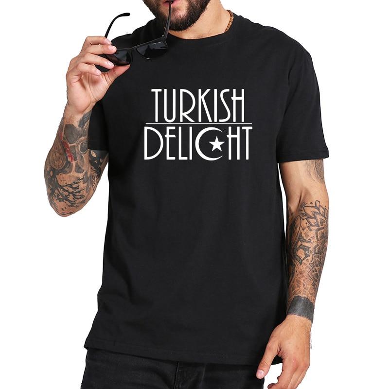 Turkish Delight camisetas para hombre estampadas de algodón suave camiseta Homme buena calidad divertido regalo camiseta gran oferta verano 2018 tamaño de EE. UU.