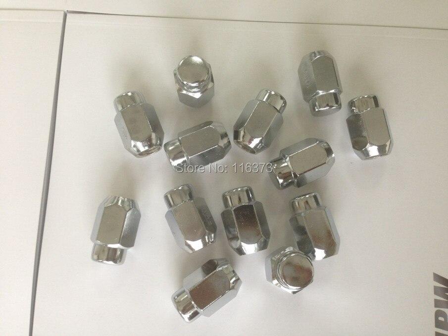 """20 piezas 7/16 """"tuercas bulto Bellota XL 13/16"""" HEX coche cromo PLATET"""