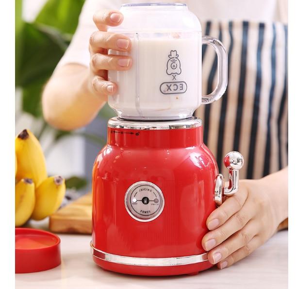 Máquina eléctrica para hacer jugo, máquina para hacer batidos, máquina automática inteligente para jugar fruta