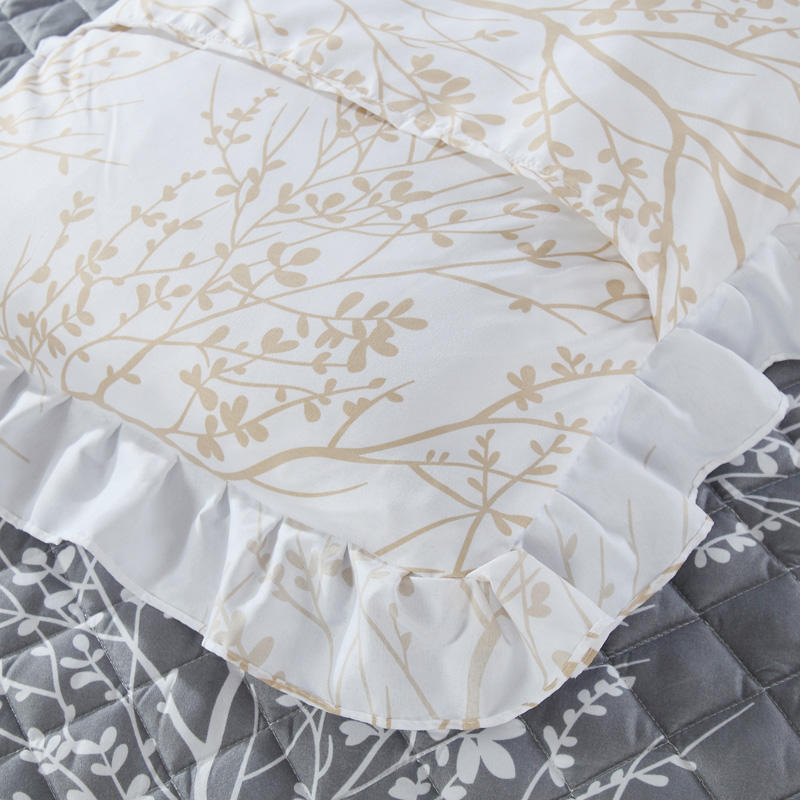 Luxury 3 Piece Quilted Bedspread 100% Cotton Coverlet Set Skin Friendly Summer Bedspreads Comforter Fabric Coverlet  Couvre Lit