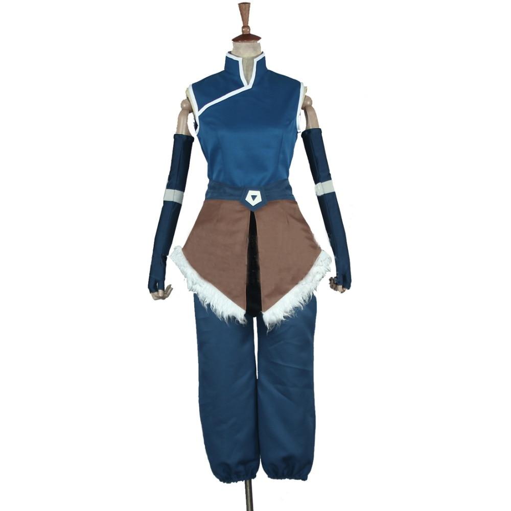 2018 légende de Korra Cosplay déguisement saison 4