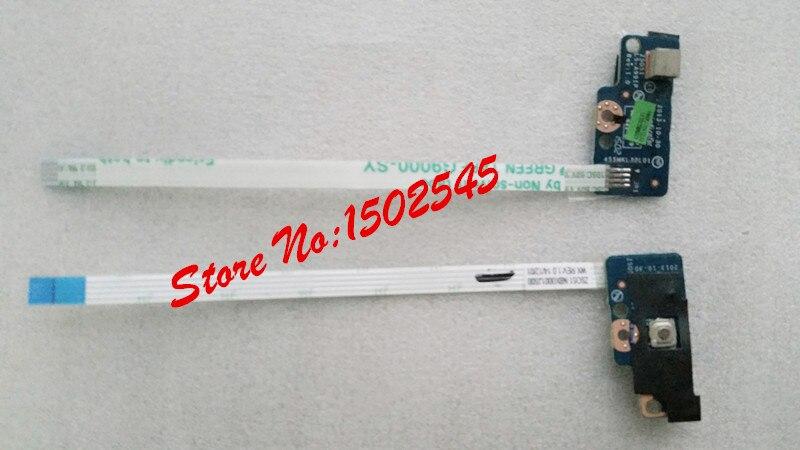 Placa de botón de alimentación original para ordenador portátil envío gratis original para HP Pavilion 14-R 14-G 15-G ZS051 LS-A991P Placa de interruptor