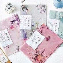 3 teile/los Schwefelsäure Papier Umschlag Transluzenten Umschlag Für Planer Veranstalter Hochzeit Brief Einladung