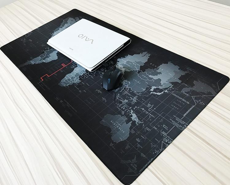 Große Größe 700*300*2mm Welt karte Schnell benutzerdefinierte 3D druck gummi geschwindigkeit spiel maus pad anhaltende computer und laptops Matte Gaming