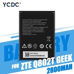 Bateria li3928t44p4h735350 baterias recarregáveis do telefone bateria para zte q802t geek v975 u988s n986 ávido trio z833