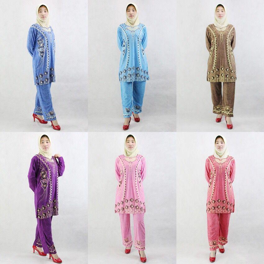 Lager-Eis seide pakistani kleid langarm roupa indiana druck Pakistan kleidung set wih schal sari indien 123220-123225