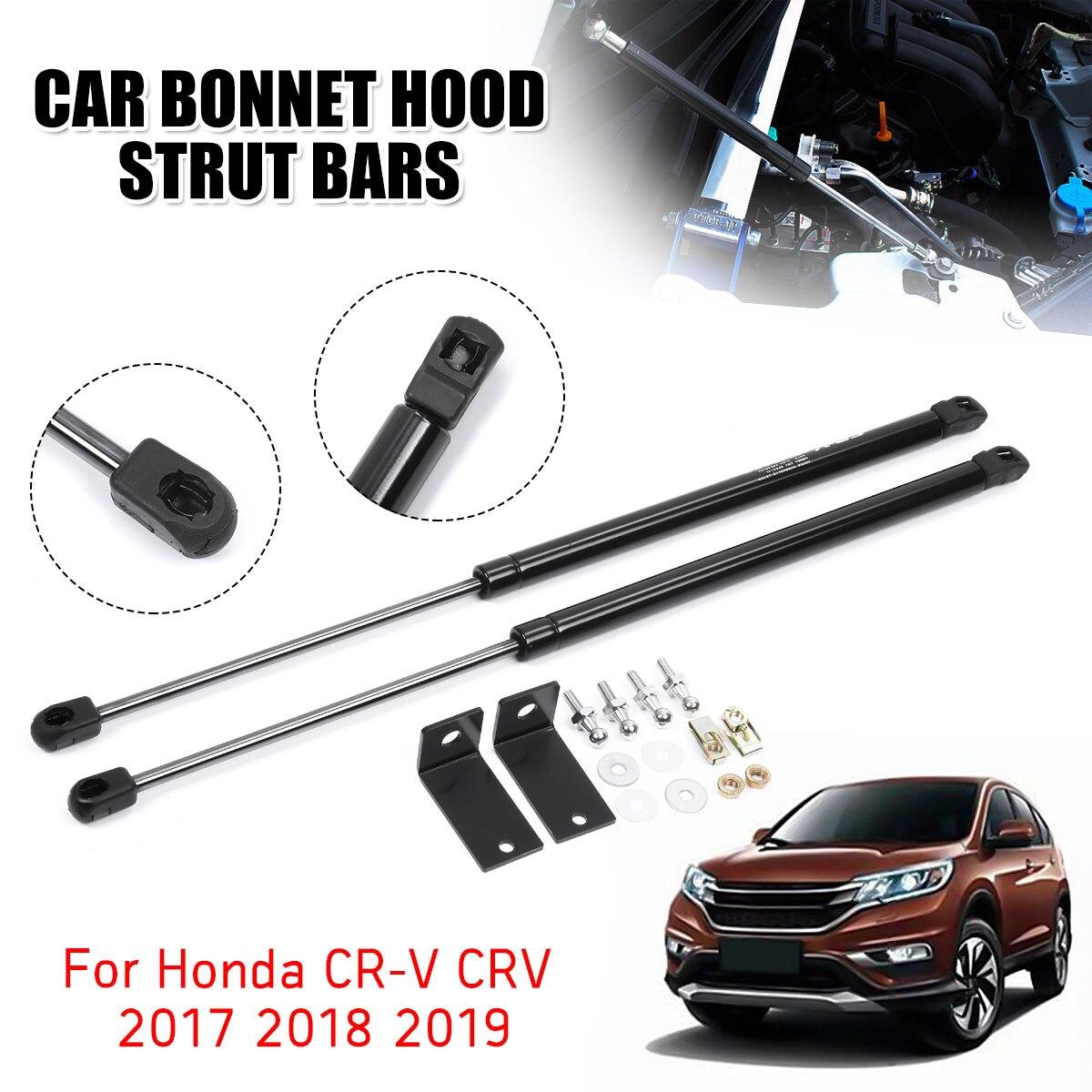 2 uds tapa delantera del motor capó choque resorte de elevación puntales Barra soporte varilla brazo Gas resorte para Honda para CR-V CRV 2017 2018 2019